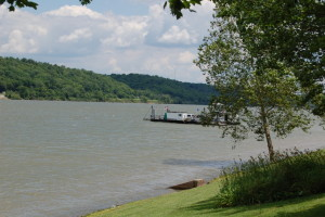 Augusta Ferry on the Ohio River