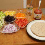 Audrey's Kitchen: Roll Your Own Rainbow Burritos