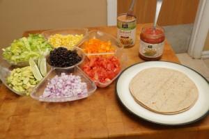 Step 1.6 Rainbow Burrito