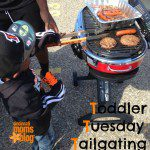 Toddler Tuesday: Tailgating Toddler Style