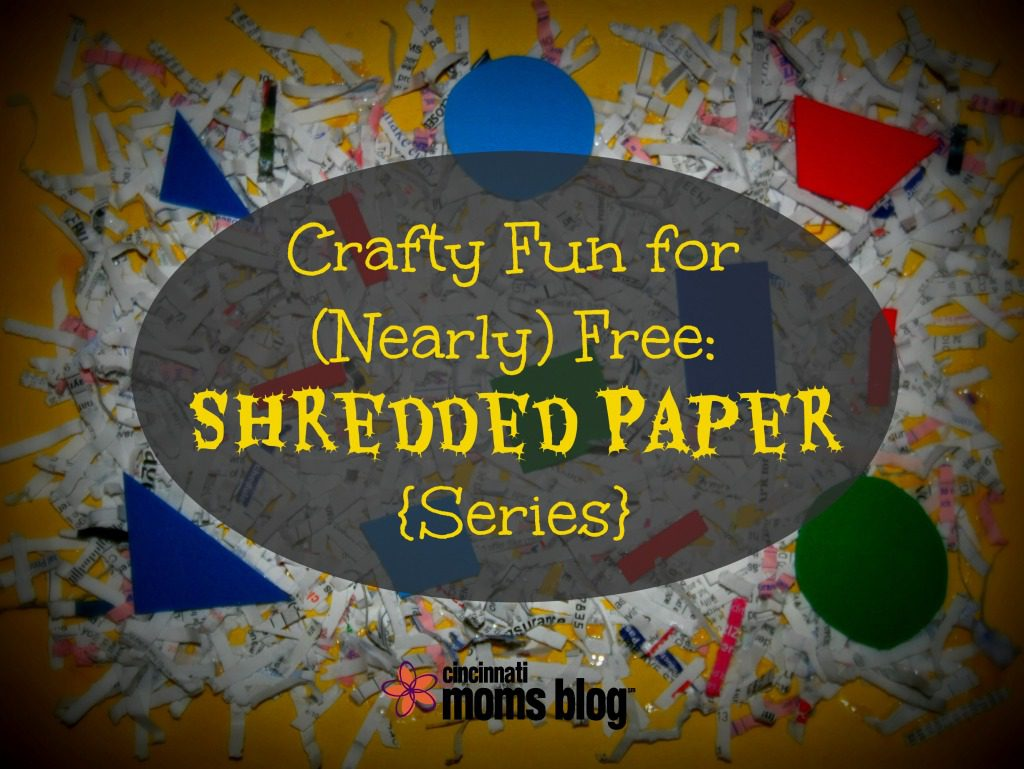 Crafty Fun For Nearly Free Shredded Paper