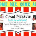 You're Invited! CMB Playdate at Circus Mojo