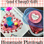 Thoughtful (and Cheap!) Holiday Gift: Homemade Playdough and Play Mats
