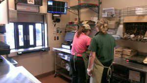 Inside the Panera Drive-Thru @ Union Center