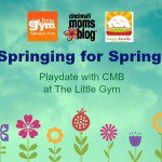 Springing for Spring: Playdate with CMB at The Little Gym