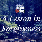 A Lesson in Forgiveness