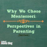 Why We Chose Montessori: Perspectives in Parenting {Series}