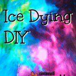 Ice Dying DIY