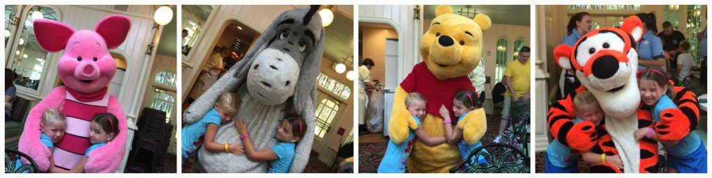 Breakfast Companions from the 100 Acre Wood.