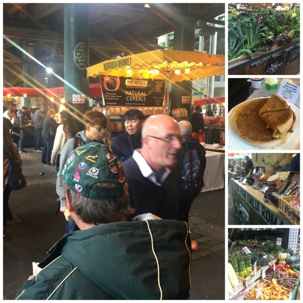 Bourough Market. A whole new world of people, sights, smells, and tastes, all in two city blocks.
