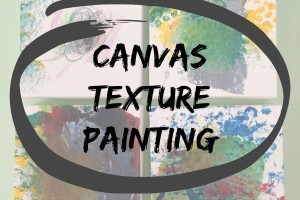 Canvas Texture Painting