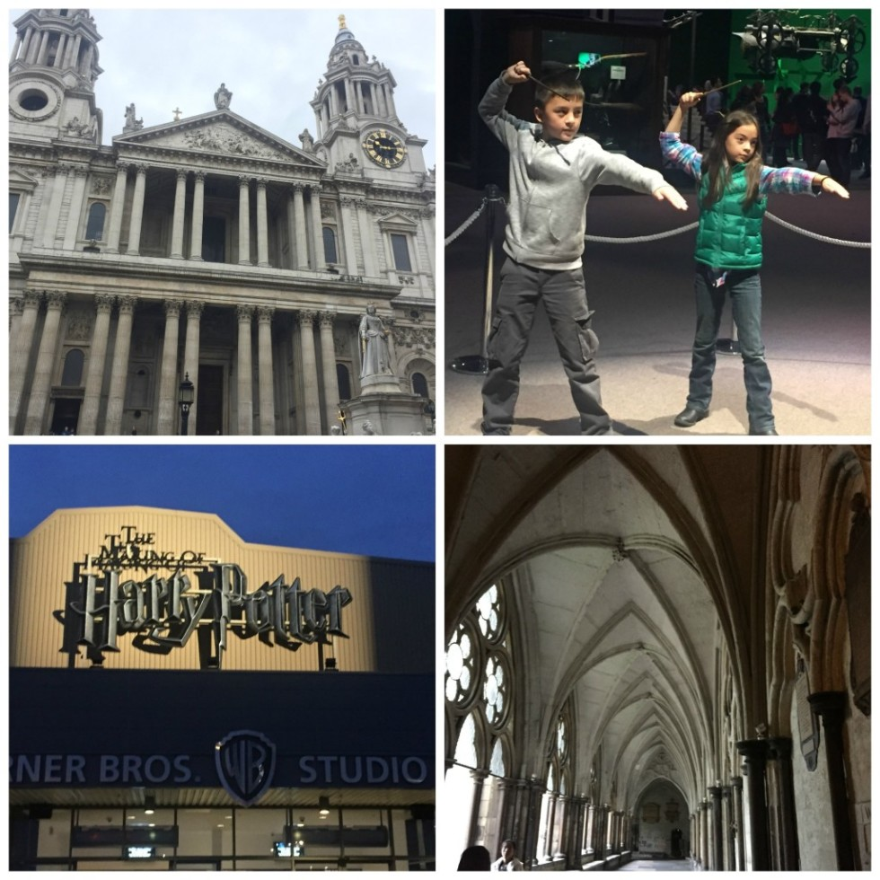 Whether a kid favorite like casting spells at the Harry Potter Studio or parent favorites like St. Paul's Cathedral, everyone found something to enjoy.