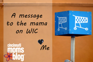 A message to the mama on WIC