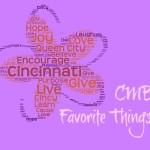 CMB Favorite Things!