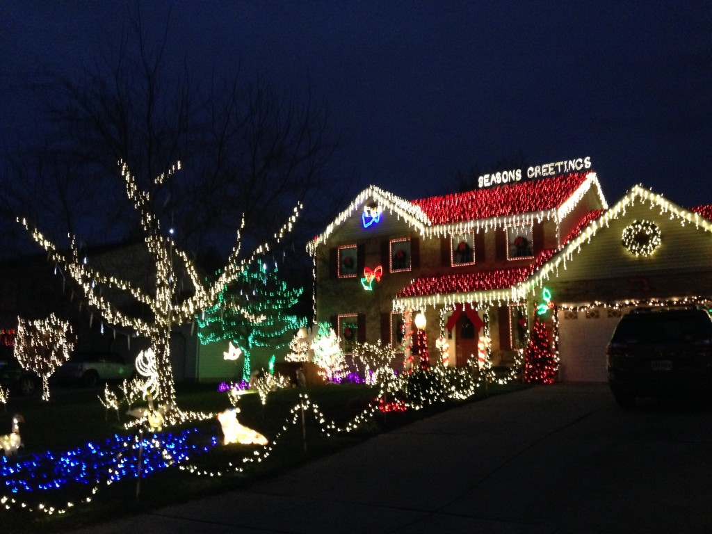 Residential Holiday Lights Tour!
