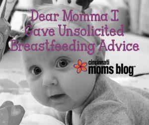 to the mom i gave breastfeeding advice copy