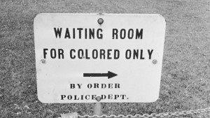 1961 Segregated Bathroom Signs from CNN
