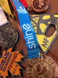 It's not all about the medals. But they're pretty sweet, too!