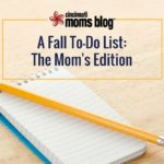 Fall To Do List: The Mom's Edition