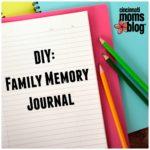 DIY: Family Memory Journal
