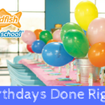 Birthdays Done Right with Goldfish Swim School