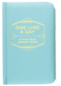 Resolution Resources: One Line a Day