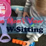 One Mom's View on W-Sitting