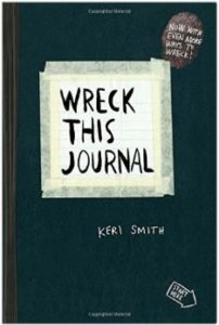 Resolution Resources: Wreck this Journal