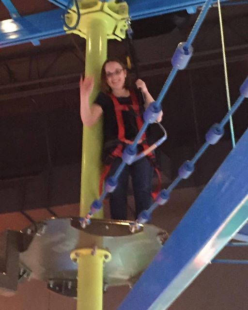 daring mom high ropes course