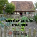 Farm (or Back Yard) to Table: Spring Edition