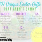 107 Candy-Free Easter Basket Gift Ideas