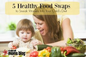 Healthy food swaps to add vitamins in your child's diet