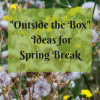 CMB Outside the Box Ideas for Spring Break-2