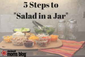 CMB 5 Steps to Salad in a Jar