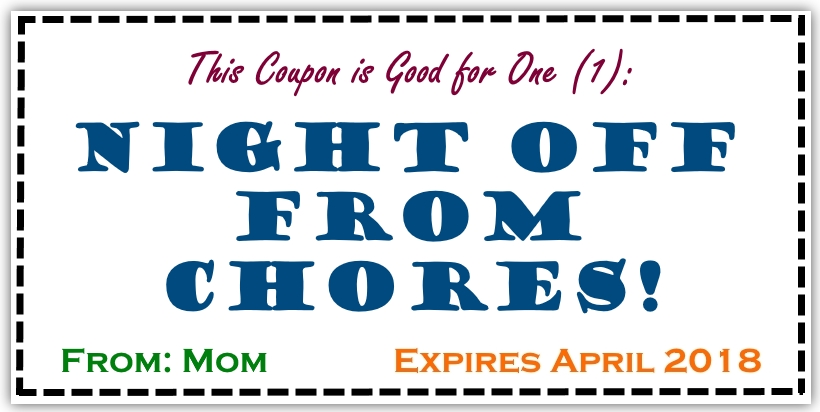 chore coupons