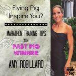 Marathon training tips from Amy Robillard