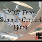 Free Summer Concert Guide {2017}