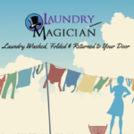 Laundry Washed, Folded and Returned to Your Door. Yes, it is Magic!