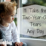 I'll Take the Two-Year-Old Tears Any Day