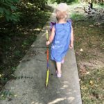 Kid Crafts: How to Make a Painted Walking Stick