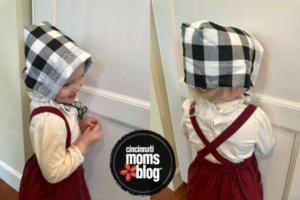DIY Thanksgiving bonnet