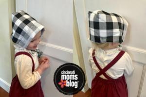 DIY Thanksgiving bonnet