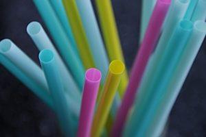 Multicolored straws