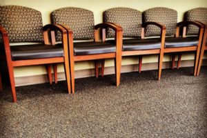ER waiting room chairs