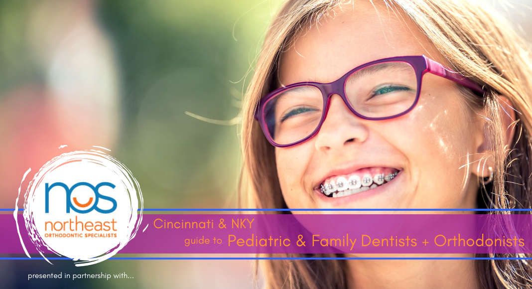 Dentist Guide Title Image of Girl with Braces