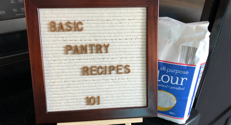 Making Basic Pantry Staples At Home {Recipes Included}