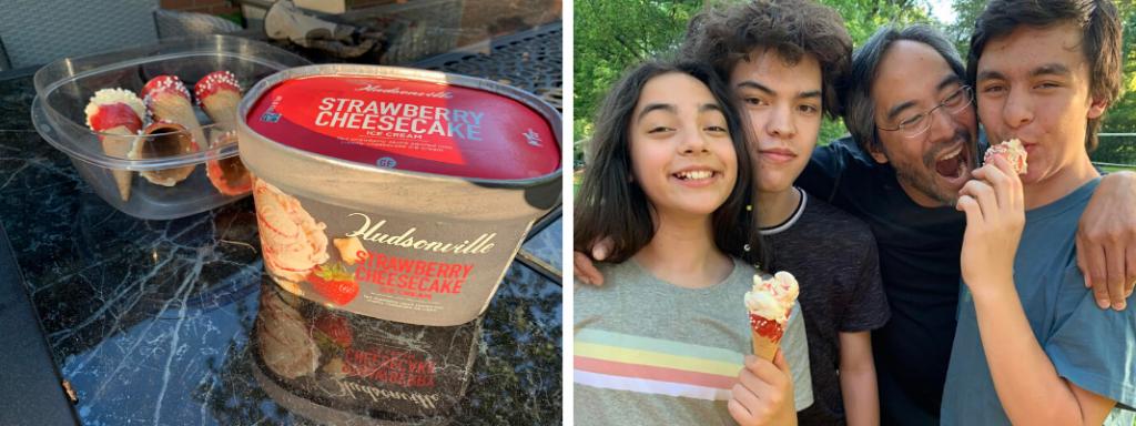 Hudsonville National Ice Cream Month