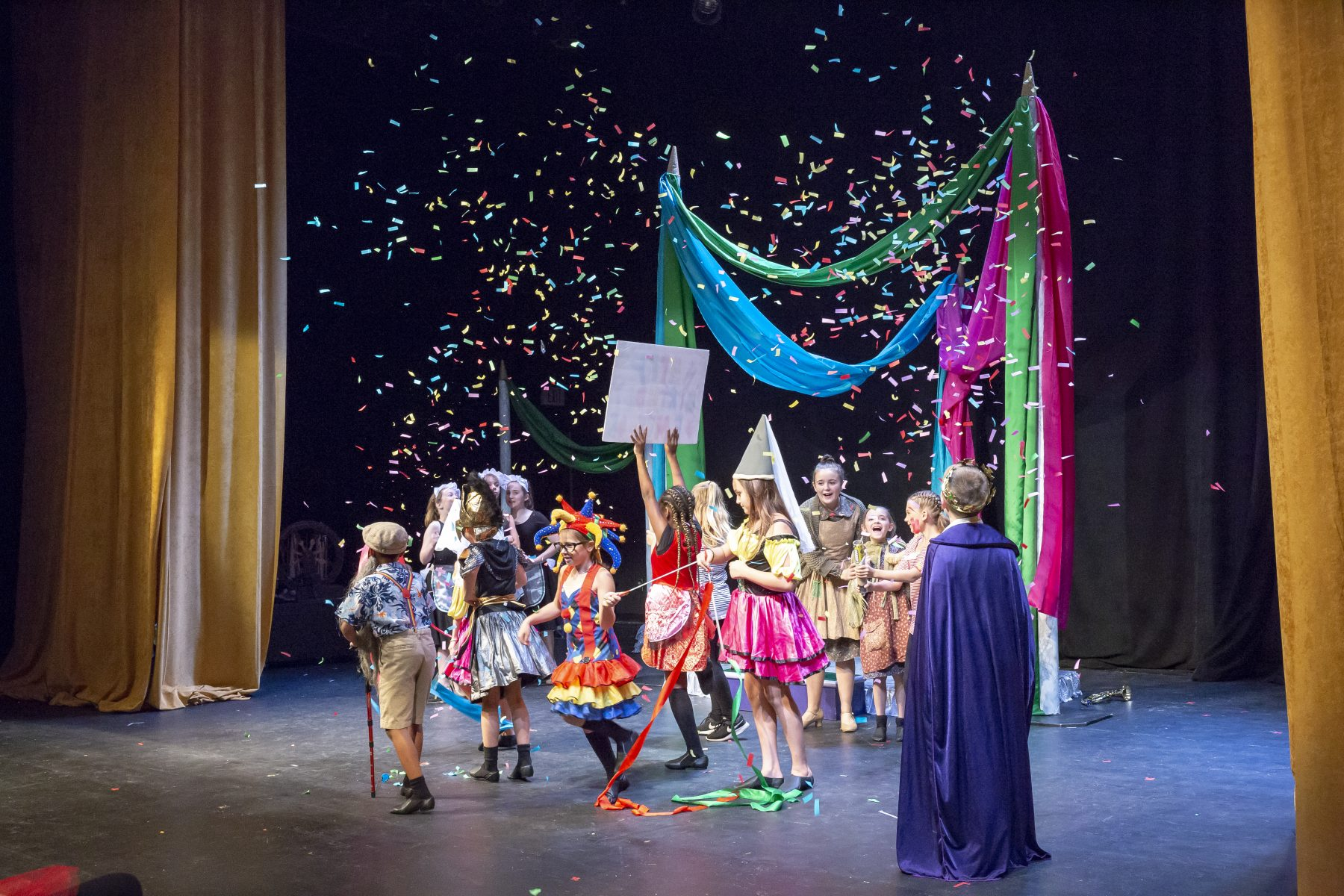 tct academy page to stage
